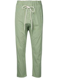 свободные брюки с заниженным шаговым швом  Bassike