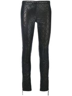 стеганые байкерские брюки P.A.R.O.S.H.