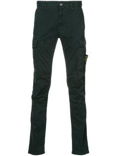 брюки в стиле милитари Stone Island