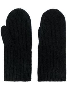 перчатки в рубчик Isabel Marant