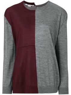 свитер дизайна колор-блок Stella McCartney