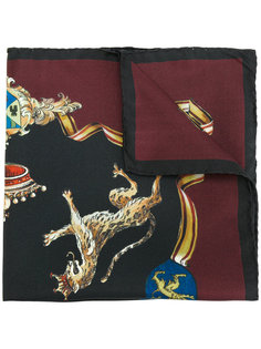 шарф с леопардами Dolce & Gabbana