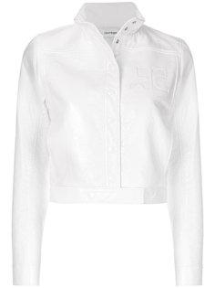 укороченная куртка-бомбер  Courrèges