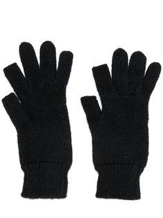 ребристые перчатки Rick Owens