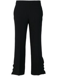 укороченные брюки с оборками на манжетах  LAutre Chose