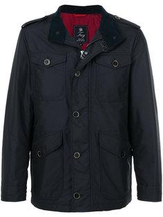 легкая куртка с накладными карманами Fay