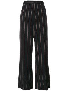широкие брюки в полоску  Chloé