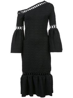 расклешенное платье на одно плечо Jonathan Simkhai