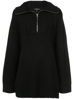 Raglan Zip-Up Pullover Derek Lam