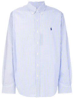 рубашка с мелкую клетку Polo Ralph Lauren