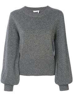 кашемировый свитер с рукавами клеш  Chloé