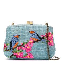 embroidered clutch bag Serpui