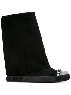 ботинки с металлическим носком Casadei