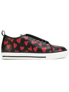 кроссовки с принтом Red Valentino