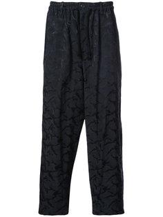 брюки в пижамном стиле Yohji Yamamoto