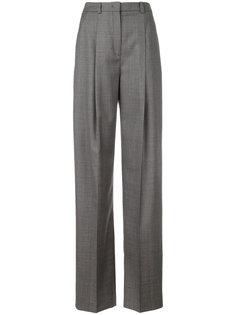 строгие брюки с завышенной талией  Jil Sander Navy