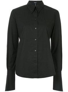 рубашка с удлиненными рукавами  Jil Sander Navy