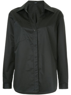 классическая рубашка шифт  Jil Sander Navy