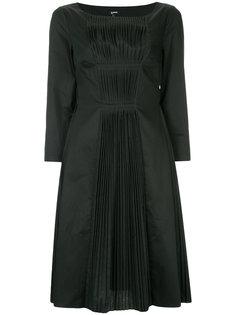 плиссированное платье шифт  Jil Sander Navy