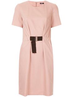 платье с поясом  Jil Sander Navy