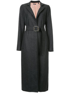 классическое строгое пальто  Jil Sander Navy