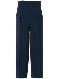 широкие укороченные брюки  Alberta Ferretti