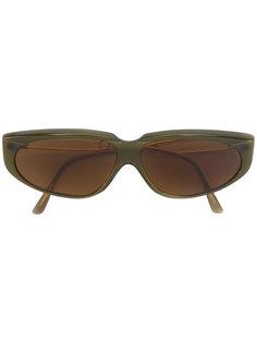 солнцезащитные очки  с овальной оправой Moschino Vintage