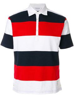 футболка-поло в полоску Thom Browne