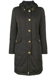 однобортное пальто Peuterey