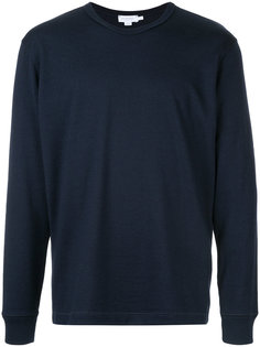 crew neck jumper Sunspel