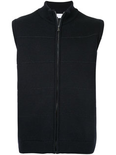 knit gilet Sunspel