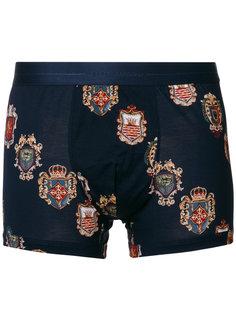 crest print boxers Dolce & Gabbana Underwear