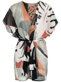printed kimono Adriana Degreas