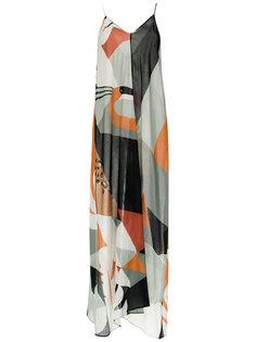 printed maxi dress Adriana Degreas