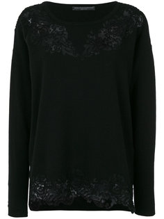 lace detail sweater Ermanno Scervino