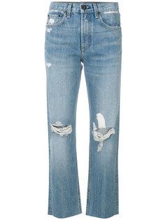 состаренные укороченные джинсы  Rag & Bone