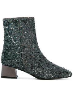 ботинки по щиколотку с пайетками Marc Ellis