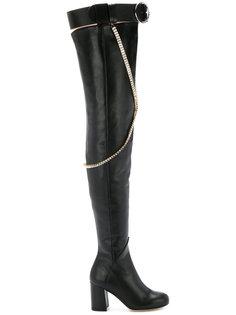 high thigh chain  boots Olgana