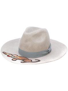 шляпа с аппликацией собаки Ultràchic