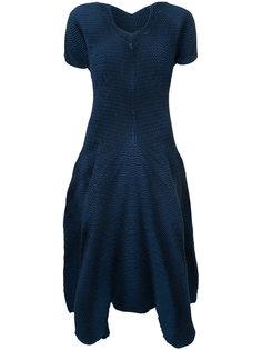 ruched detail dress Issey Miyake