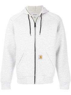 logo patch zip hoodie  Carhartt