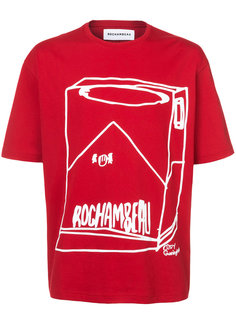Cigarette printed T-shirt Rochambeau