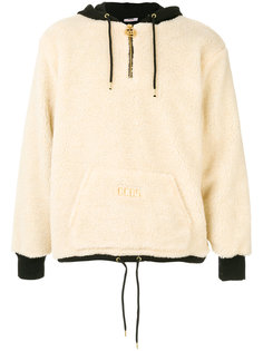 contrast colour hoodie Gcds