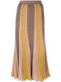 юбка в полоску с блестками  Missoni