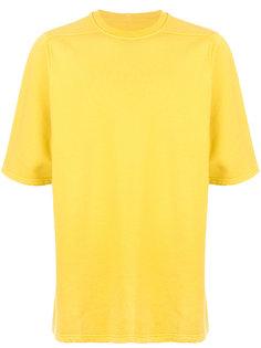 футболка со спущенными плечами Rick Owens DRKSHDW