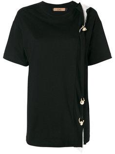 футболка с золотистой фурнитурой Coliac