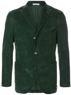 вельветовый пиджак на три пуговицы Boglioli