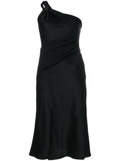 платье на одно плечо  Versace
