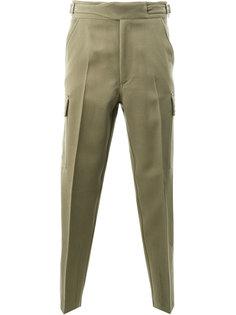 брюки в стиле милитари Stella McCartney