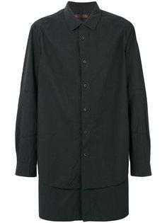 удлиненная многослойная рубашка Ziggy Chen